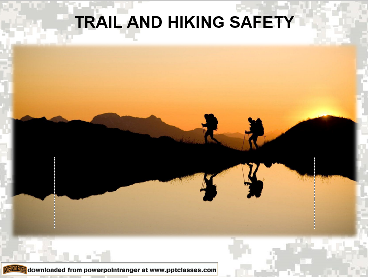 Hiking and Trail safety