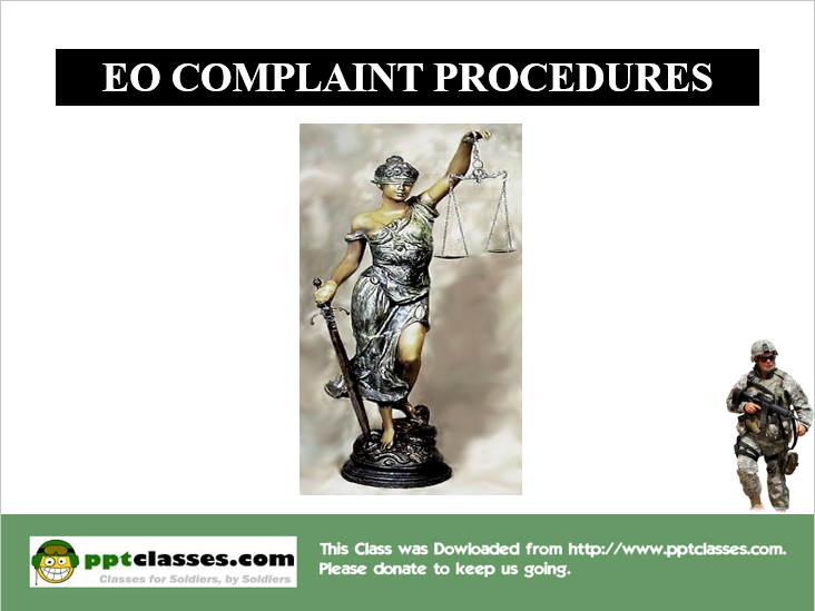 EO Complaint Procedures Version III