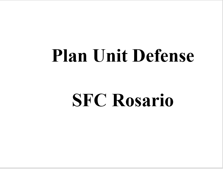 A power class to plan a unit defense