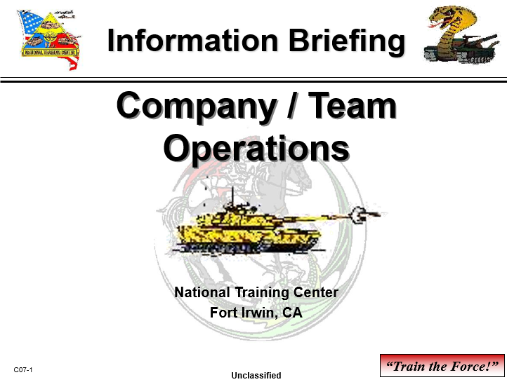 CompanyTeam Operations