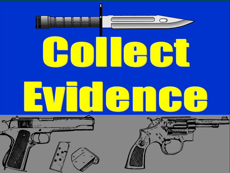 Collect Evidence with Detainee Ops