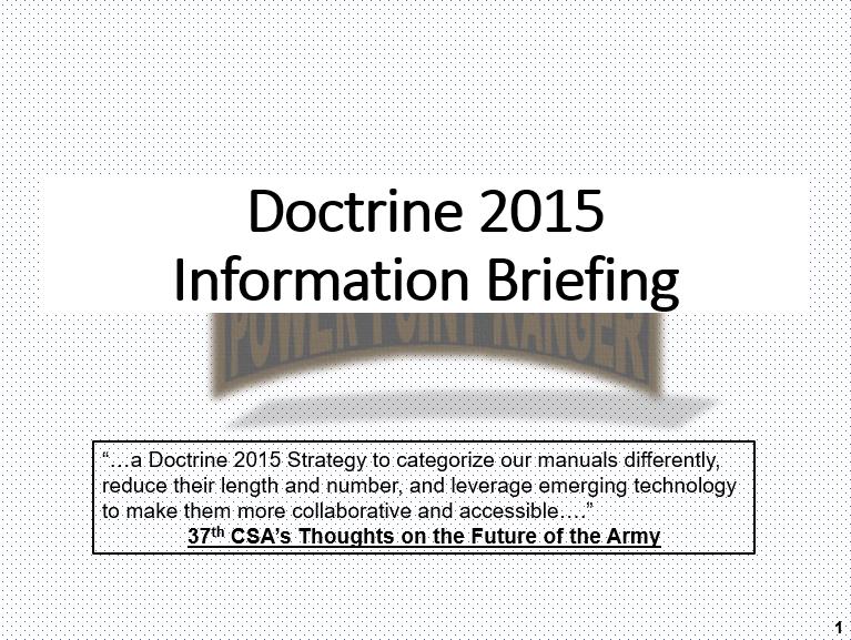 Doctrine 1998-2016
