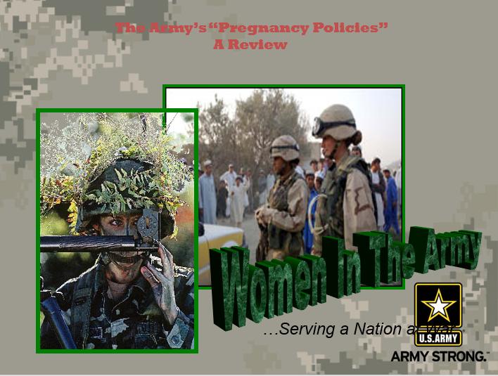 Army Pregnancy