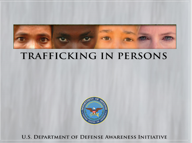 A power point class on trafficking in persons