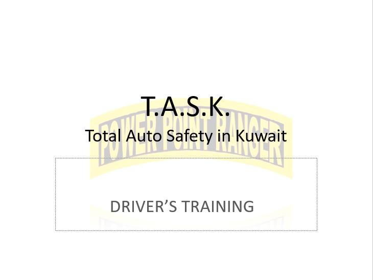 TASK Drivers Training (Kuwait Driving)