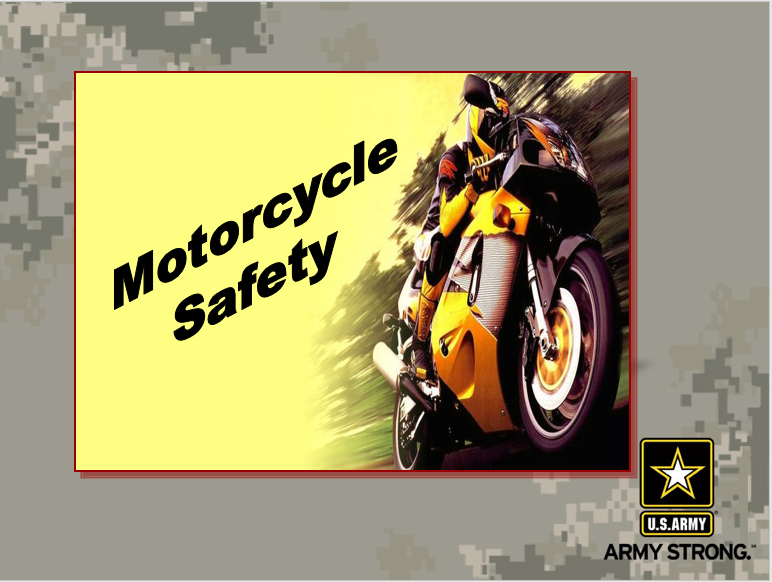 Privately-owned Motorcycle Safety