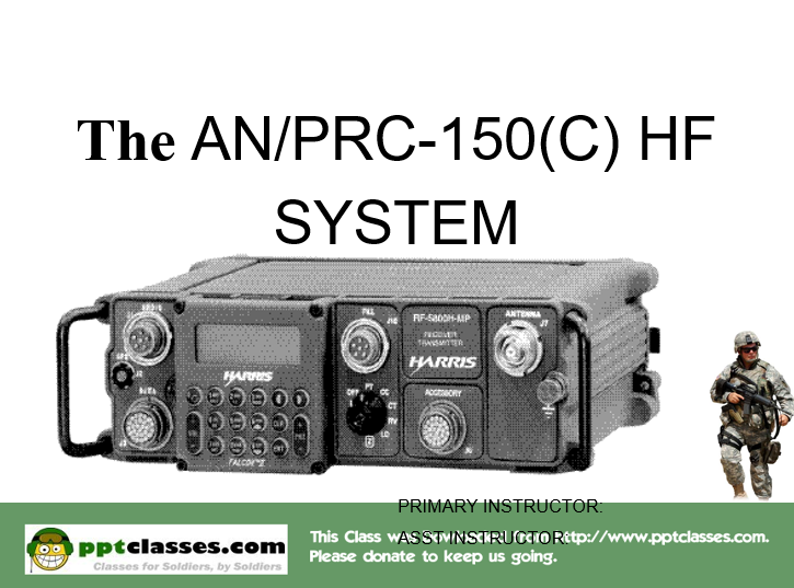 ANPRC150 Harris Radio